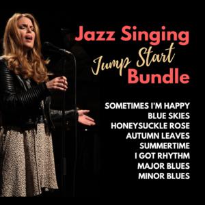 Jazz Singing Jump Start Bundle